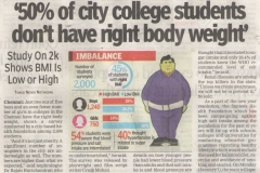 Times of India - Paper cutting